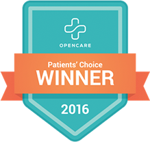 Opencare Patients' Choice Winner 2016